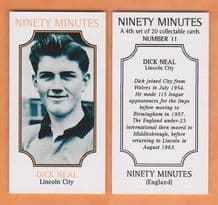 Lincoln City Dick Neal 11 (NM4)