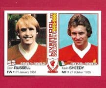 Liverpool Colin Russell & Kevin Sheedy (LBP)