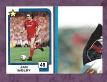 Liverpool Jan Molby 48 (IN)