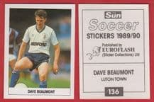 Luton Town Dave Beaumont 136