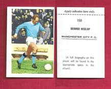 Manchester City George Heslop 158