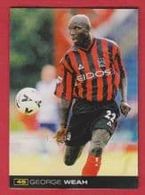 Manchester City George Weah Liberia