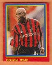 Manchester City George Weah Liberia (R)