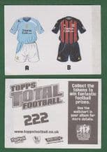 Manchester City Home & Away Shirts
