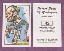 Manchester City Jimmy McMullan 42