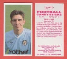 Manchester City Paul Lake 40