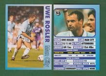 Manchester City Uwe Rosler East Germany 53