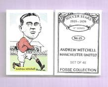 Manchester United Andrew Mitchell 25 (FC)