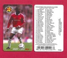 Manchester United Andy Cole 6