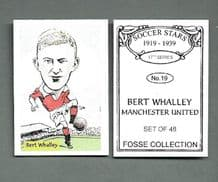 Manchester United Bert Whalley 19 (FC)