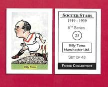 Manchester United Billy Toms 25 (FC)
