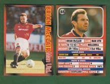 Manchester United Brian McClair Scotland 65