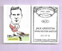 Manchester United Jack Griffiths 23 (FC)