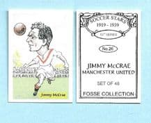 Manchester United Jimmy McCrae 26 (FC)