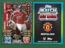 Manchester United Juan Mata Spain Ashley Young England 450 Midfield Duo