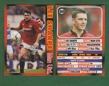Manchester United Lee Sharpe England 60