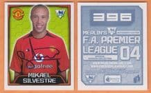 Manchester United Mikael Silvestre France 396