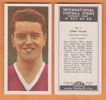 Manchester United Tommy Taylor England 3 KIF