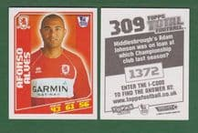 Middlesbrough Alfonso Alves Brazil 309