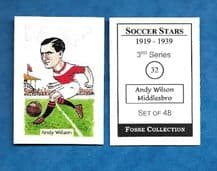 Middlesbrough Andy Wilson 32 (FC)