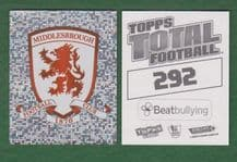 Middlesbrough Badge 292