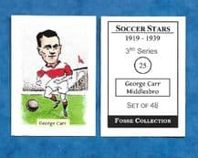 Middlesbrough George Carr 25 (FC)