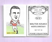 Middlesbrough Walter Holmes 30 (FC)