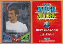 New Zealand Ryan Nelsen Blackburn Rovers 170 Star Player