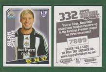 Newcastle United Alan Smith England 332