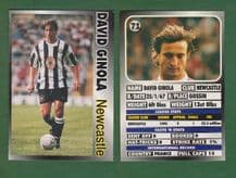 Newcastle United David Ginola France 71