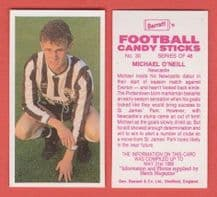 Newcastle United Michael O`Neill 30