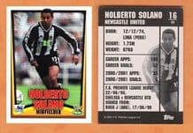 Newcastle United Norberto Solano Peru