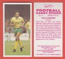 Norwich City Dale Gordon 9