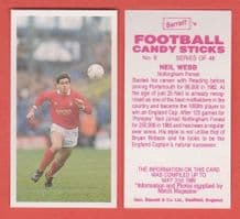 Nottingham Forest Neil Webb 8