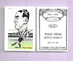 Notts County Dixie Dean 35 (FC)