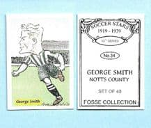 Notts County George Smith 34 (FC)