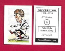 Notts County Peter Kelly 36 (FC)