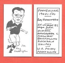 Oldham Athletic Ray Haddington 371