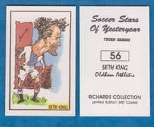 Oldham Athletic Seth King 56