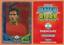 Paraguay Roque Santa Cruz Manchester City 181 Star Player