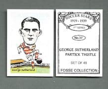 Partick Thistle George Sutherland 37 (FC)