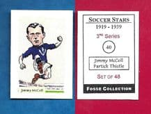 Partick Thistle Jimmy McColl 40 (FC) (R)