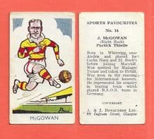 Partick Thistle Jimmy McGowan 16 (AJD)