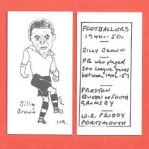 Preston North End Billy Brown 119