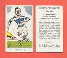Queens Park Rangers Bert Addinall 228 (AJD)