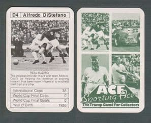 Real Madrid Alfredo Di Stefano Spain D4
