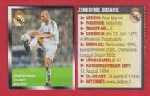 Real Madrid Zinedine Zidane France
