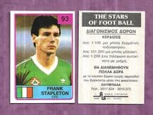 Republic of Ireland Frank Stapleton 93 (B)