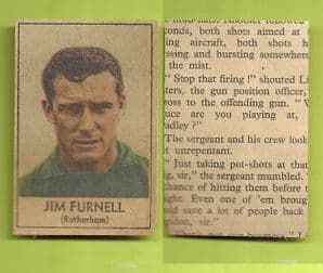 Rotherham United Jim Furnell 1969