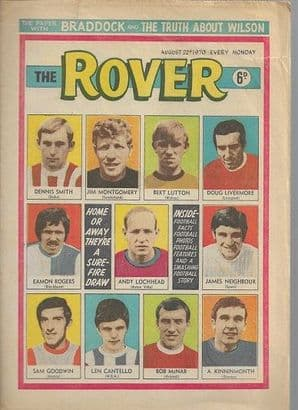 Rover Comic August 22nd 1970